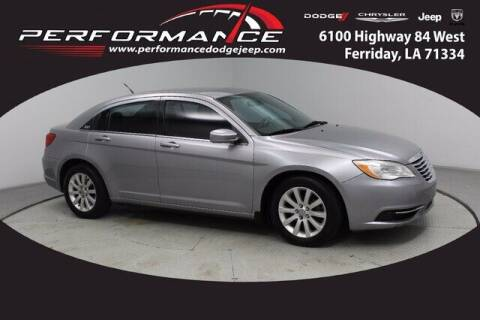 2013 Chrysler 200 for sale at Performance Dodge Chrysler Jeep in Ferriday LA