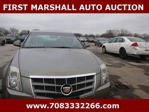 2011 Cadillac CTS for sale at First Marshall Auto Auction in Harvey IL
