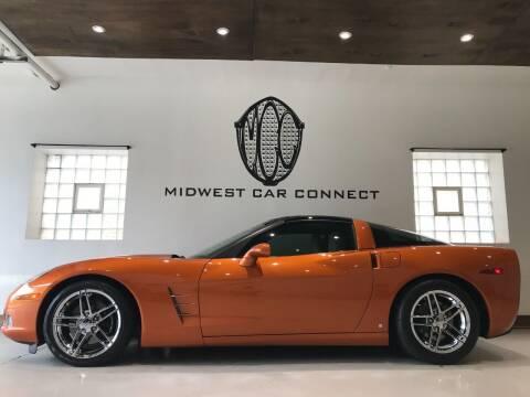 2007 Chevrolet Corvette for sale at Midwest Car Connect in Villa Park IL