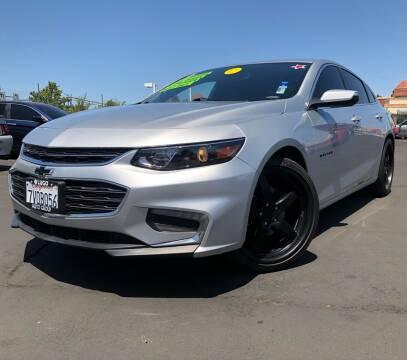 2017 Chevrolet Malibu for sale at LUGO AUTO GROUP in Sacramento CA