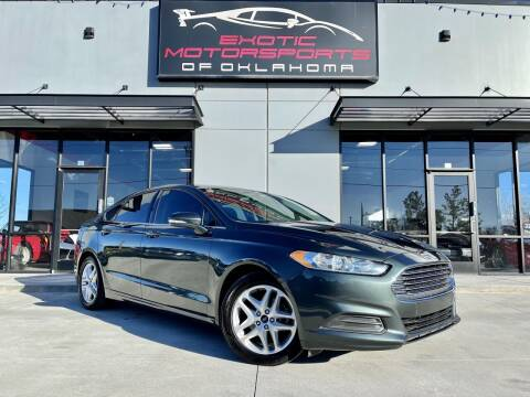 2015 Ford Fusion for sale at Exotic Motorsports of Oklahoma in Edmond OK