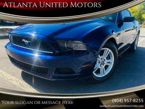 2014 Ford Mustang for sale at Atlanta United Motors in Buford GA
