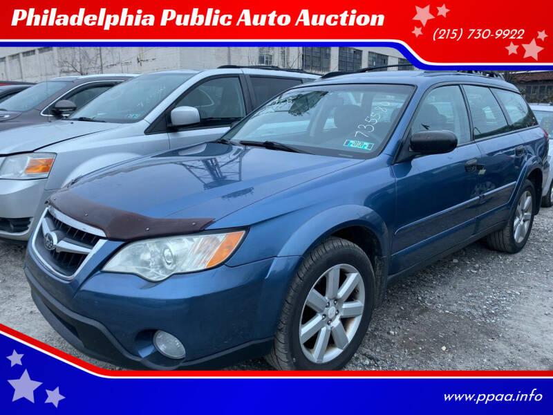 2008 Subaru Outback for sale at Philadelphia Public Auto Auction in Philadelphia PA