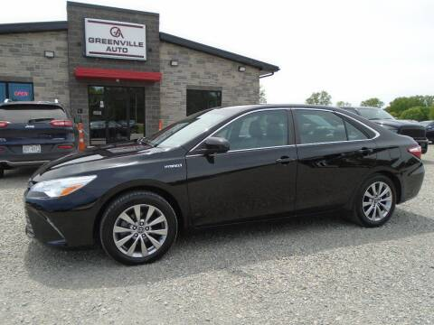 2016 Toyota Camry Hybrid for sale at GREENVILLE AUTO & RV in Greenville WI