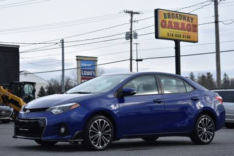 2014 Toyota Corolla for sale at Broadway Garage of Columbia County Inc. in Hudson NY