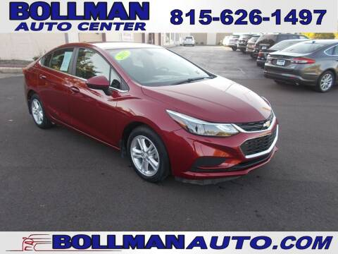2017 Chevrolet Cruze for sale at Bollman Auto Center in Rock Falls IL