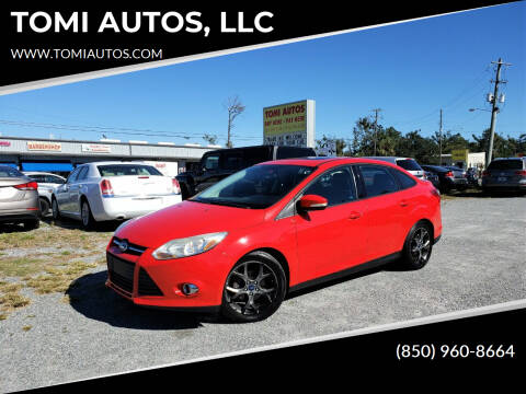 2014 Ford Focus for sale at TOMI AUTOS, LLC in Panama City FL