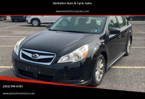 2010 Subaru Legacy for sale at Berkshire Auto & Cycle Sales in Sandy Hook CT