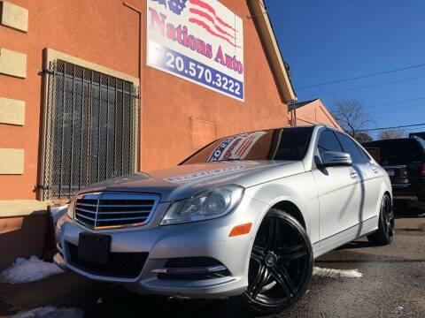 2012 Mercedes-Benz C-Class for sale at Nations Auto Inc. II in Denver CO