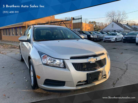 2014 Chevrolet Cruze for sale at 3 Brothers Auto Sales Inc in Detroit MI