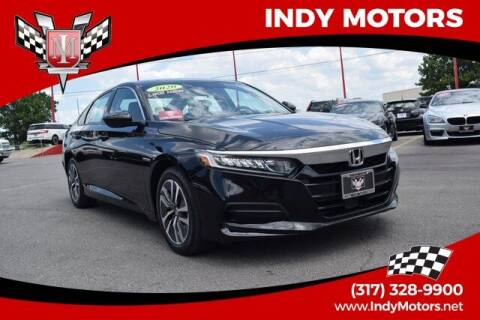 2020 Honda Accord Hybrid for sale at Indy Motors Inc in Indianapolis IN