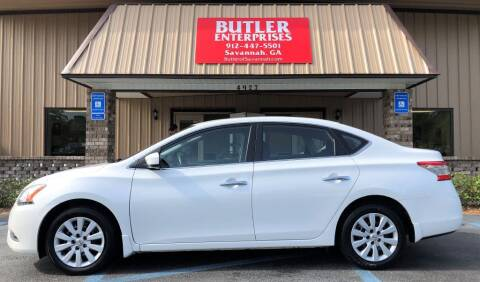 2013 Nissan Sentra for sale at Butler Enterprises in Savannah GA