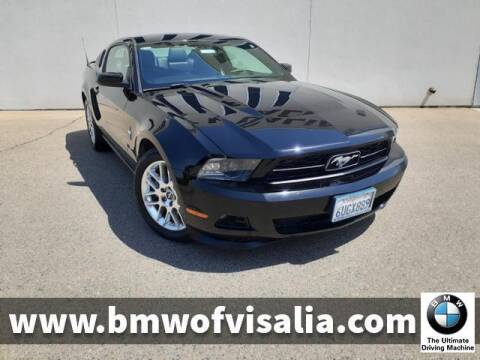 2012 Ford Mustang for sale at BMW OF VISALIA in Visalia CA