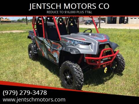2017 Odes DOMINATOR X-4 1000 SP EDITION for sale at JENTSCH MOTORS in Hearne TX