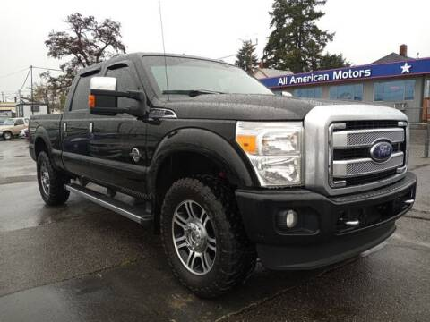 2016 Ford F-250 Super Duty for sale at All American Motors in Tacoma WA