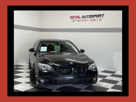 2012 BMW 7 Series for sale at Royal AutoSport in Sacramento CA
