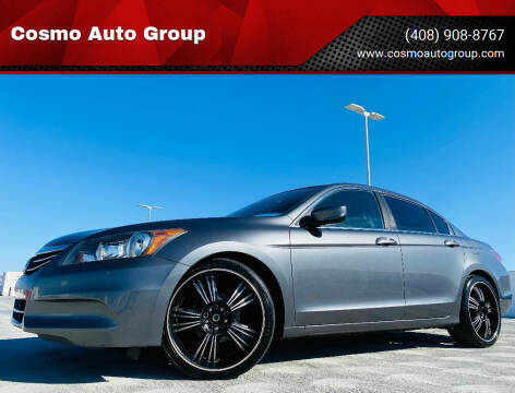 2012 Honda Accord for sale at Cosmo Auto Group in San Jose CA