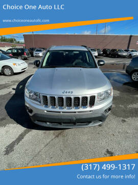 2011 Jeep Compass for sale at Choice One Auto LLC in Beech Grove IN