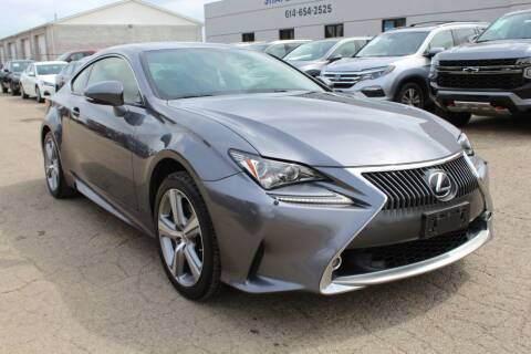 2015 Lexus RC 350 for sale at SHAFER AUTO GROUP in Columbus OH