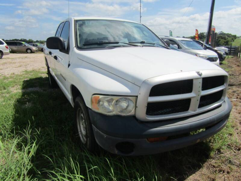 2005 Dodge Ram Pickup 1500 for sale at Hill Top Sales in Brenham TX