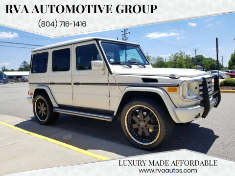 2009 Mercedes-Benz G-Class for sale at RVA Automotive Group in North Chesterfield VA