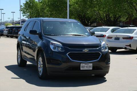 2016 Chevrolet Equinox for sale at Silver Star Motorcars in Dallas TX