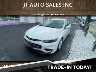 2016 Chevrolet Malibu for sale at JT AUTO SALES INC in Oakland Park FL