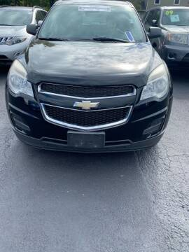 2012 Chevrolet Equinox for sale at Right Choice Automotive in Rochester NY
