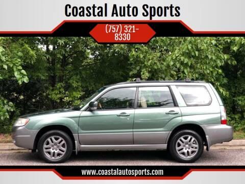 2007 Subaru Forester for sale at Coastal Auto Sports in Chesapeake VA