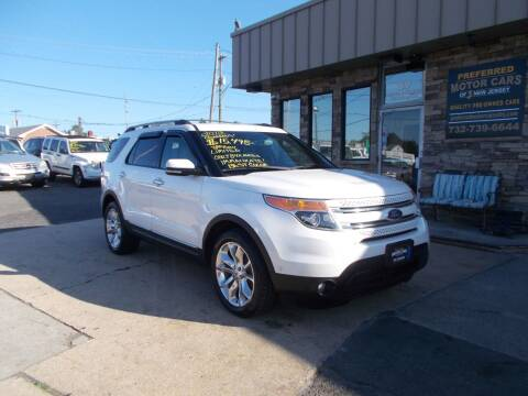 2012 Ford Explorer for sale at Preferred Motor Cars of New Jersey in Keyport NJ