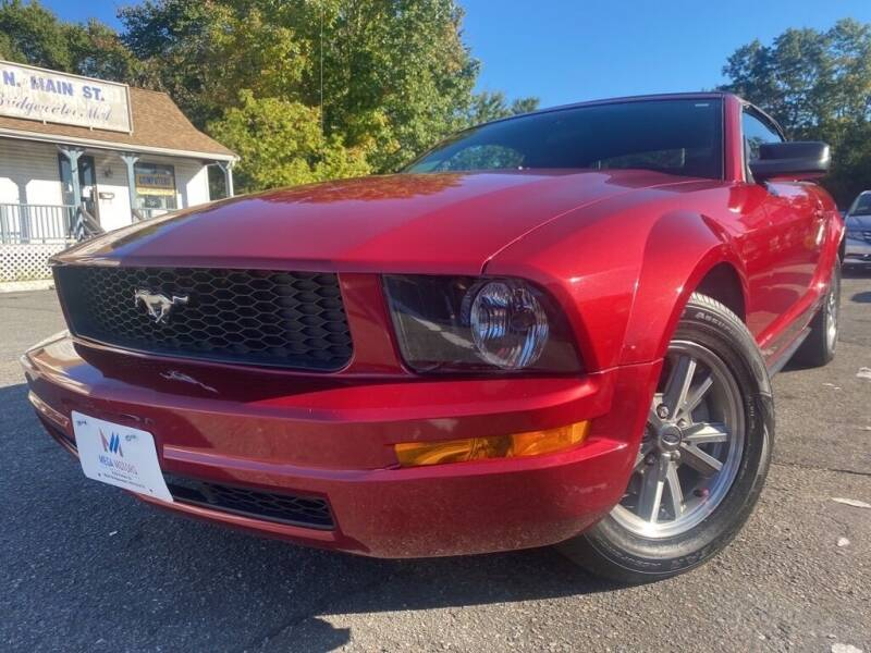 2005 Ford Mustang for sale at Mega Motors in West Bridgewater MA