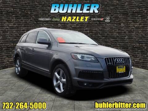 2015 Audi Q7 for sale at Buhler and Bitter Chrysler Jeep in Hazlet NJ