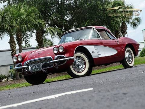 1961 Chevrolet Corvette for sale at SURVIVOR CLASSIC CAR SERVICES in Palmetto FL