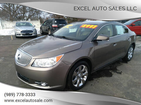 2010 Buick LaCrosse for sale at Excel Auto Sales LLC in Kawkawlin MI