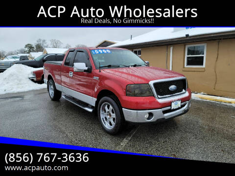 2007 Ford F-150 for sale at ACP Auto Wholesalers in Berlin NJ