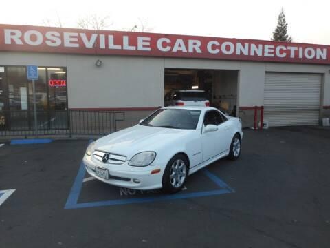 2001 Mercedes-Benz SLK for sale at ROSEVILLE CAR CONNECTION in Roseville CA