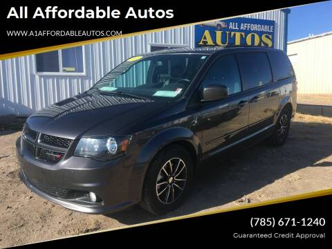 2017 Dodge Grand Caravan for sale at All Affordable Autos in Oakley KS