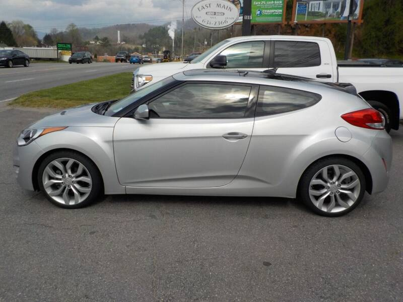 2013 Hyundai Veloster for sale at EAST MAIN AUTO SALES in Sylva NC