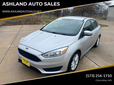 2017 Ford Focus for sale at ASHLAND AUTO SALES in Columbia MO