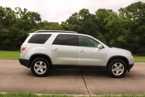 2009 GMC Acadia for sale at Clear Lake Auto World in League City TX