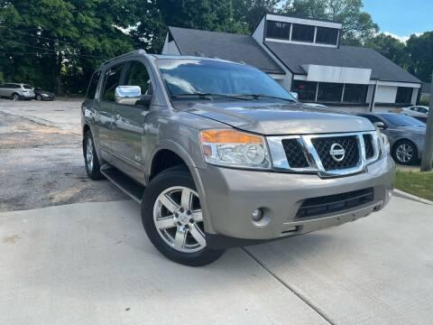 2009 Nissan Armada for sale at Alpha Car Land LLC in Snellville GA