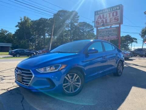 2018 Hyundai Elantra for sale at Carafello's Auto Sales in Norfolk VA