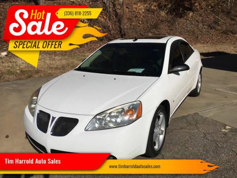 2009 Pontiac G6 for sale at Tim Harrold Auto Sales in Wilkesboro NC