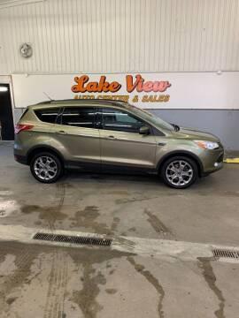 2013 Ford Escape for sale at Lake View Auto Center and Sales in Oshkosh WI