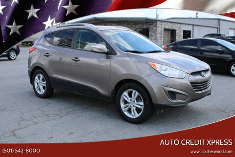 2012 Hyundai Tucson for sale at Auto Credit Xpress in North Little Rock AR