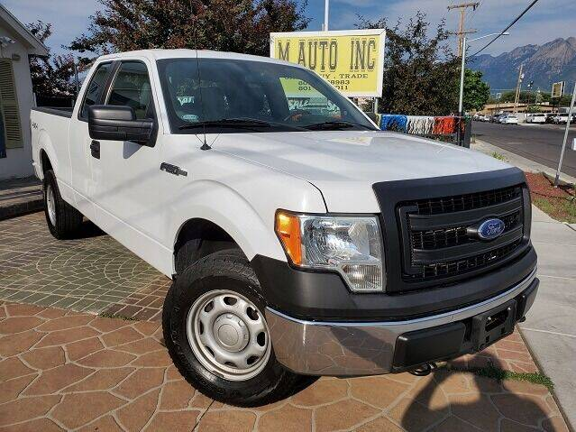 2014 Ford F-150 for sale at M AUTO, INC in Millcreek UT