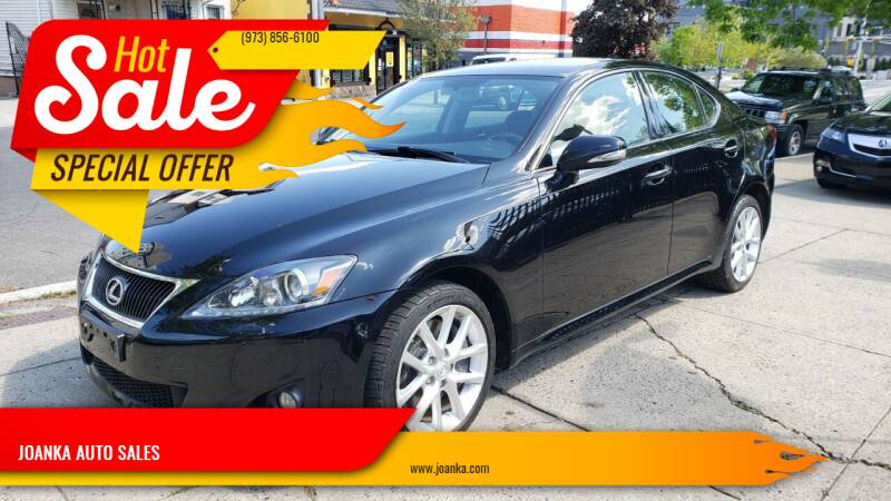 2011 Lexus IS 350 for sale at JOANKA AUTO SALES in Newark NJ