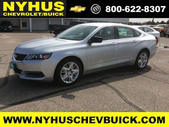 2015 Chevrolet Impala for sale at Nyhus Chevrolet Buick in Staples MN