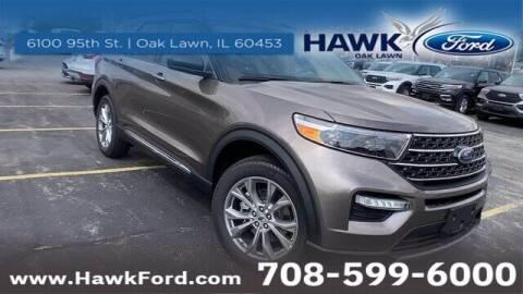 2021 Ford Explorer for sale at Hawk Ford of Oak Lawn in Oak Lawn IL