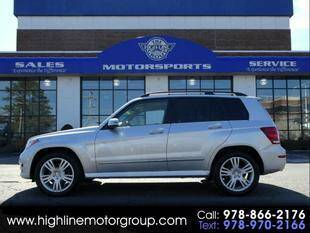 2015 Mercedes-Benz GLK for sale at Highline Group Motorsports in Lowell MA